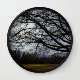 spring trees Wall Clock