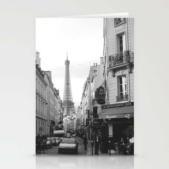 Rue St Dominique Stationery Cards