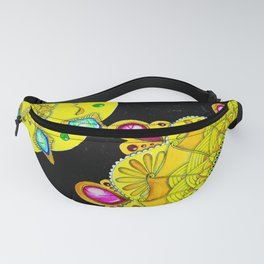 Zengems Zentangle Zenart Fanny Pack