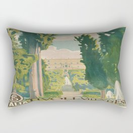Vintage poster - Italy Rectangular Pillow