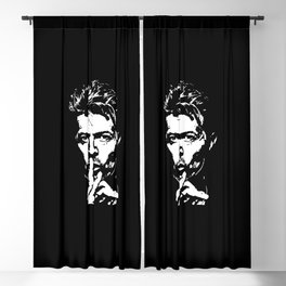 Silence - Tribute to Bowie Blackout Curtain