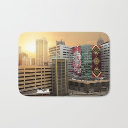 Detroit Sunrise Bath Mat