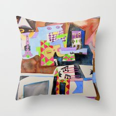 Not Sgt. Peppers Lonely Hearts Throw Pillow