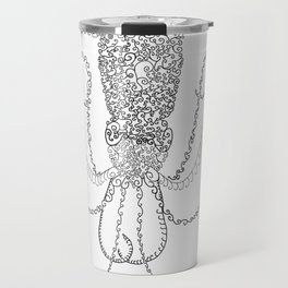 Spiral Squid Travel Mug