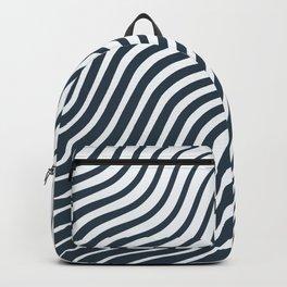 Waves - Lines Backpack