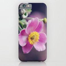 Pretty Pink flower iPhone 6s Slim Case