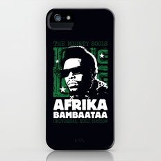 The Mighty Souls: Afrika Bambaataa iPhone (5, 5s) Slim Case