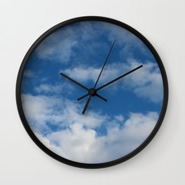 Getting Cloudy Wall Clock
