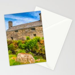 Quaint Welsh Cottage Stationery Cards
