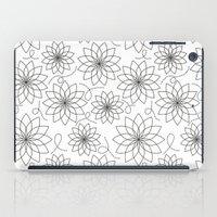 stark iPad Cases featuring Stark Flowers by SonyaDeHart