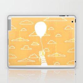 Cloudy Balloon Laptop & iPad Skin