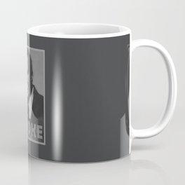 Smoke! Funny Obama Hope Parody (Smoking Man)  Coffee Mug