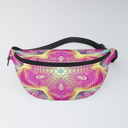 Flower Of Life Mandala (Pink Passion) Fanny Pack
