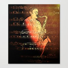 Pure Sax Canvas Print