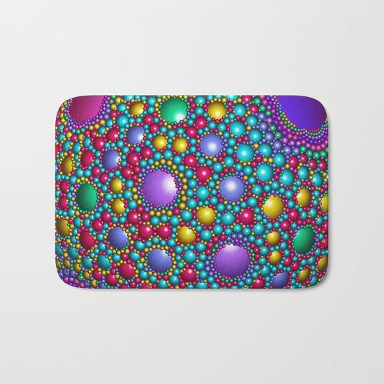 Colored balls Bath Mat