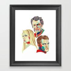 Walter, Peter, Olivia Framed Art Print