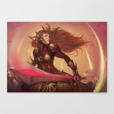 THE RADIANT DAWN Canvas Print