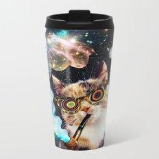 High Cat Metal Travel Mug