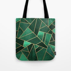 Emerald and Copper Tote Bag