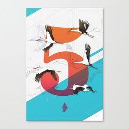 5Birds Canvas Print