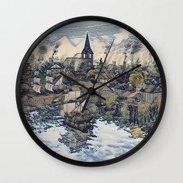 Industry Wall Clock