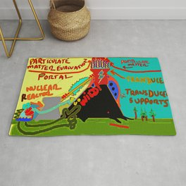 Particulate Matter Evacuation Portal Deluxe Rug