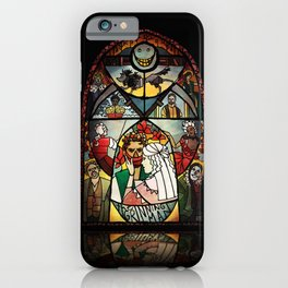 The Grinning Man Window iPhone Case