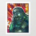 Glowing Buddha by timshumate