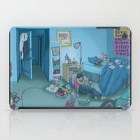 dc iPad Cases featuring DC Sleeps by kozyndan
