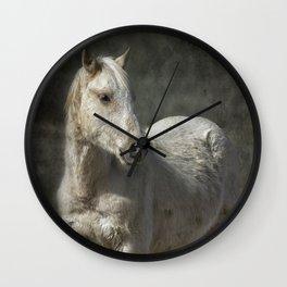 Traveler Portrait No 1 Wall Clock