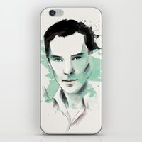 benedict iPhone & iPod Skins featuring Benedict Cumberbatch by charlotvanh