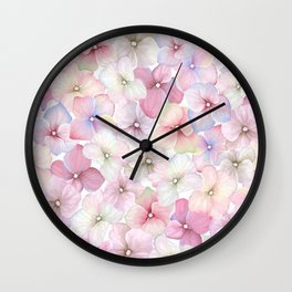 HYDRANGEAS1 Wall Clock