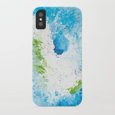 Abstract painting Slim Case iPhone X
