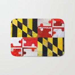 Maryland Pride Bath Mat