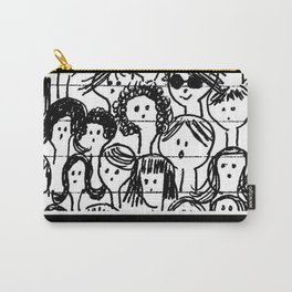Les filles...  Girls... Carry-All Pouch