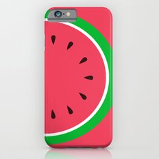 Red Watermelon - Summer time iPhone 6s Slim Case