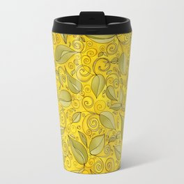 YELLOW LEAF Travel Mug