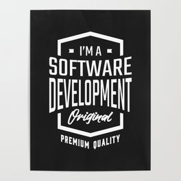 Gift for Software Development Poster