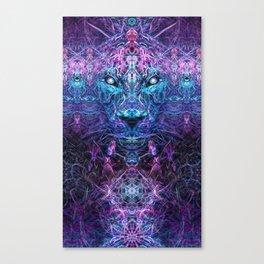 Jaguar's Delirium Canvas Print