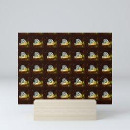 The great scallop pattern Mini Art Print