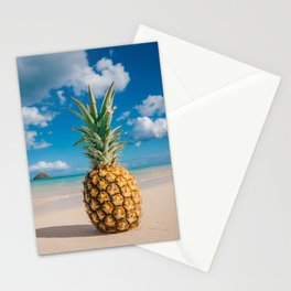 Pineapple and the Mokes Stationery Cards