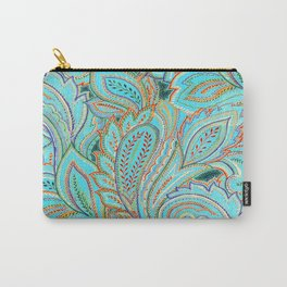 paisley, paisley Carry-All Pouch