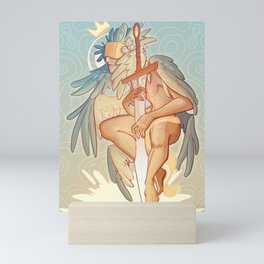 The Gatekeeper Mini Art Print