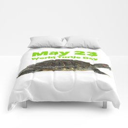 World Turtle Day - May 23 Comforters