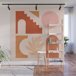 Abstraction_SHAPES_Architecture_Minimalism_002 Wall Mural