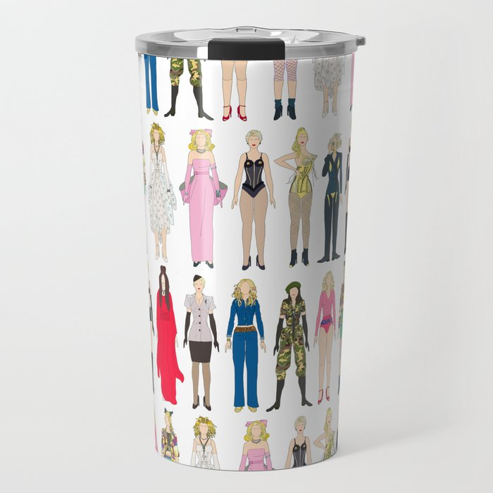 Outfits of Madge Fashion Travel Mug