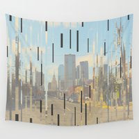 dallas Wall Tapestries featuring Dallas by Calepotts