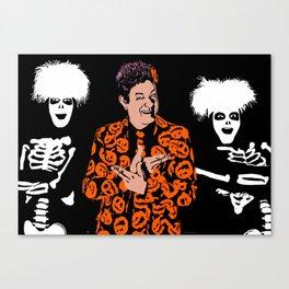 David S Pumpkins Canvas Print
