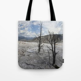 Mammoth Hot Spring  Terrace Tote Bag