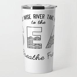 River + Sea Travel Mug